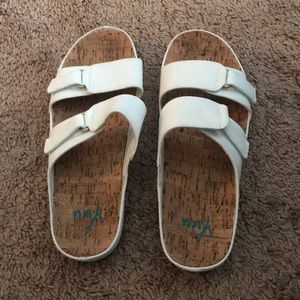 Cute comfy slip on sandals